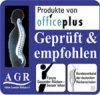 Aktion Gesunder Rücken Gütesiegel Stehpult auf Tisch bei Büro-Goertz Darmstadt