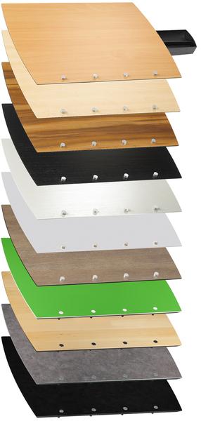 Stehpult Rolls Drive Plattenfarben 2015