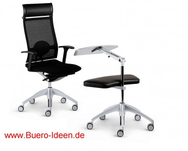 sedus Up-940 und up-103 Sessel und WorkAssistant Kombination Buero-Ideen