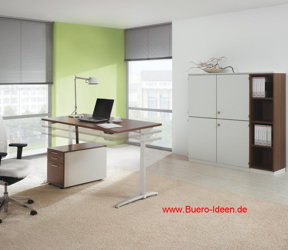Steh Sitz Tische Assmann Canovaro 500 Elektrisch Hohenverstellbarer
