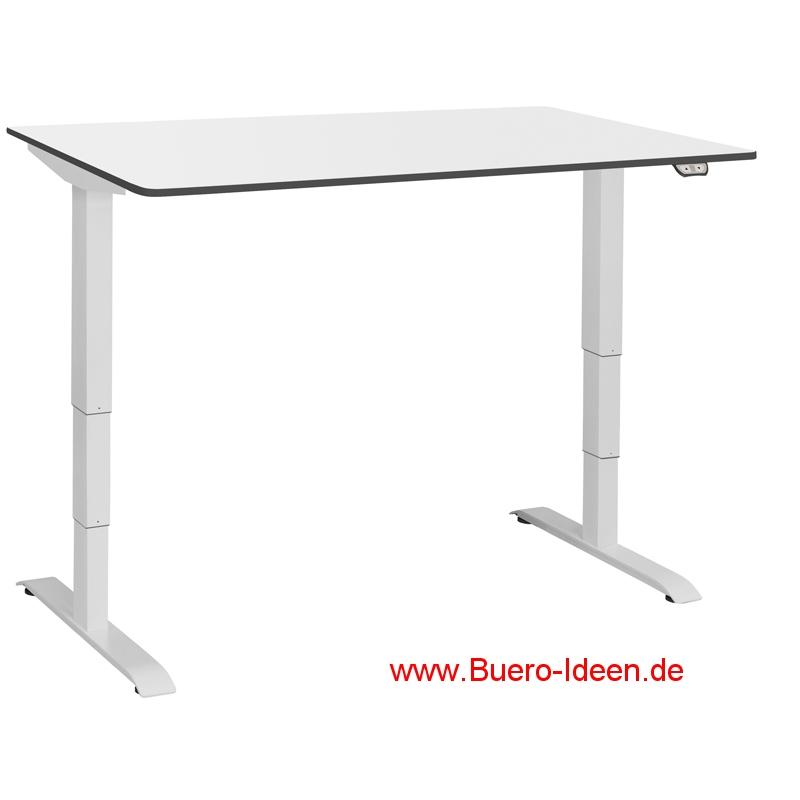 Ergon project 2 140cm neu 2014 das nachr stbare gestell for Schreibtisch 140 breit