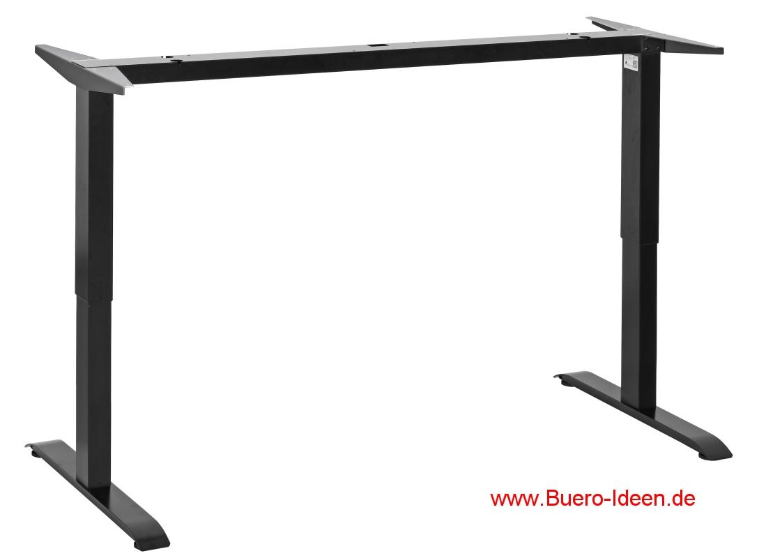 officeplus ergon project 1 h henverstellbares tischgestell oder kompletter schreibtisch steh. Black Bedroom Furniture Sets. Home Design Ideas