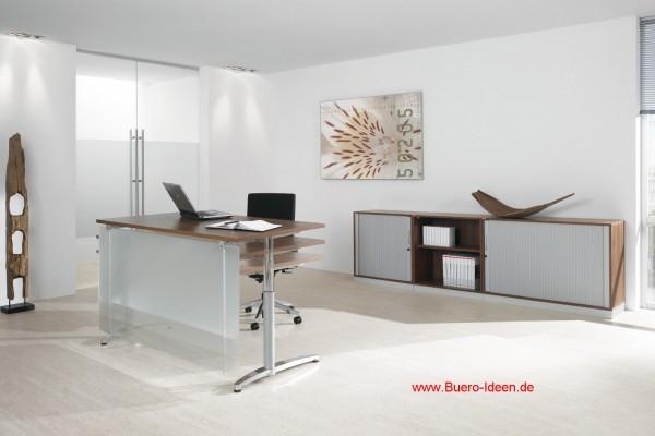 Steh Sitz Tische Assmann Canovaro 500 Elektrisch Höhenverstellbarer