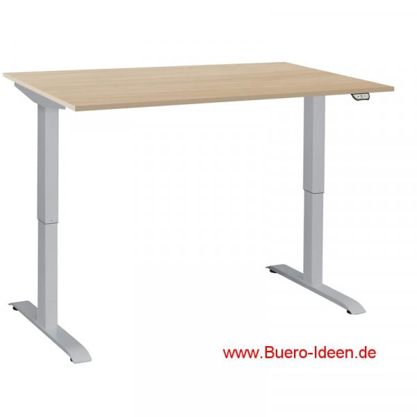 Officeplus ergon project 1 h henverstellbares for Schreibtisch extra breit