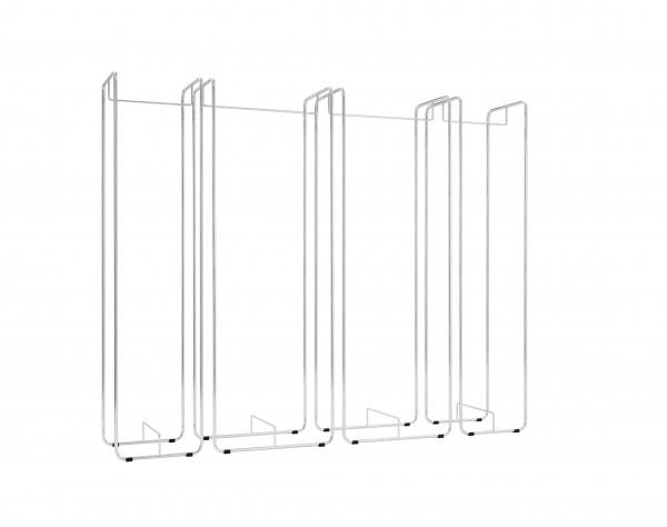 tower 40 garderobe stahlrohr chrom b ro goertz. Black Bedroom Furniture Sets. Home Design Ideas